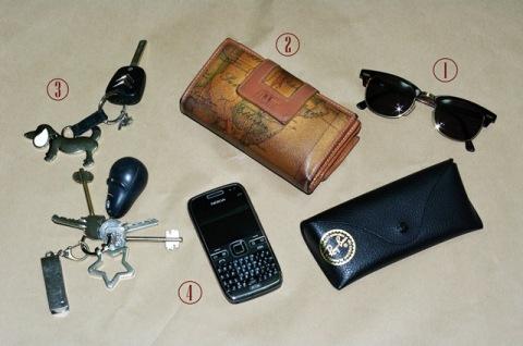 Tag cosa c'è nella mia borsa 1