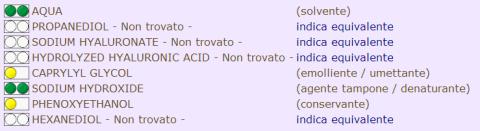 inci acido ialuronico