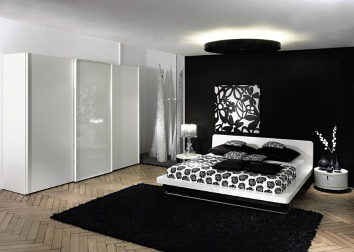 contemporary-home-design-decorating-interior-design-home-design-ideas-furniture-apartment-architecture-surprising-black-and-white-bedroom-ideas-for-women-with-stunning-gloss-walk-in-closet-elegant-bl