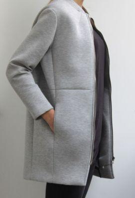 cappotto felpa