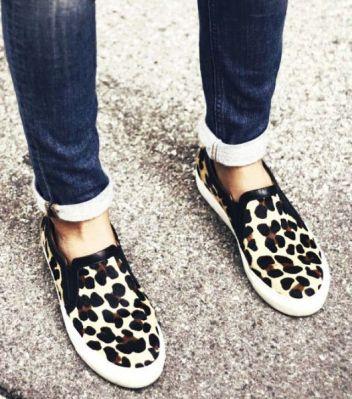 slipon leopard