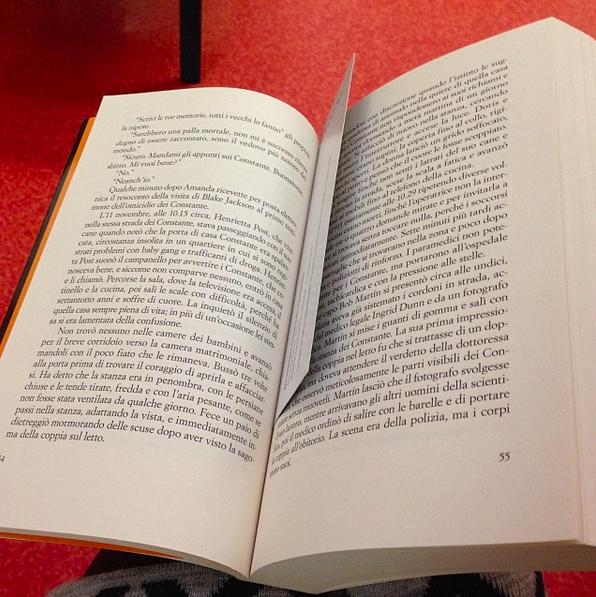 Tipica lettura in sala d'aspetto!