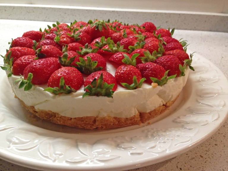 Cheesecake alle fragole2