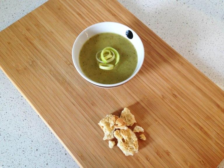 Zuppa porri zucchine 1
